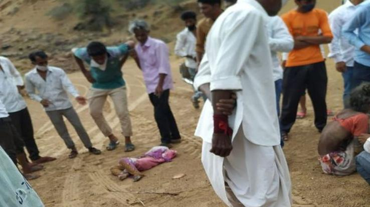 लोकडाउन की मार : 7 किलोमीटर पैदल चलने के बाद 6 साल की बच्ची की मौत , 60 साल की नानी भी बेसुध