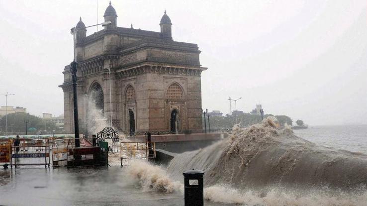 Warning issued regarding high tide in Mumbai june 10 2021