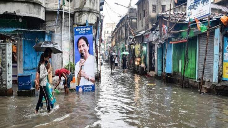 Torrential rain broke 14 year record