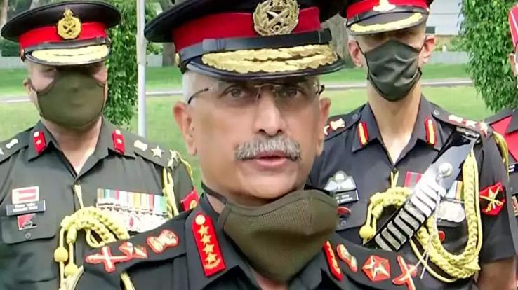 Army Chief General Naravane in action regarding the situation in Jammu and Kashmir