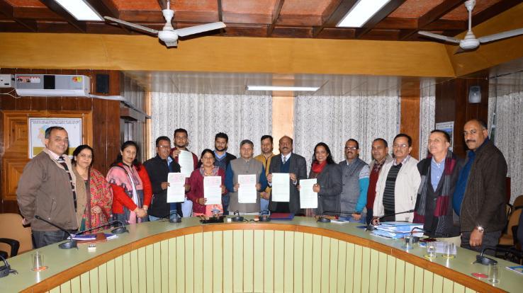 नौणी विवि ने तकनीकी हस्तांतरण के किए तीन एमओयू पर हस्ताक्षर