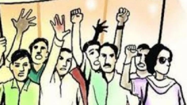 2017 से अधूरी पड़े सड़क कार्य से लोग नाराज, आंदोलन की चेतावनी