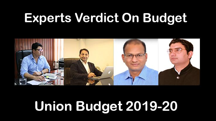EXPERTS FIRST VERDICT ON BUDGET