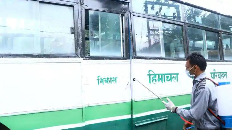 22-hrtc-buses-stranded-in-delhi-due-to-farmers-protest