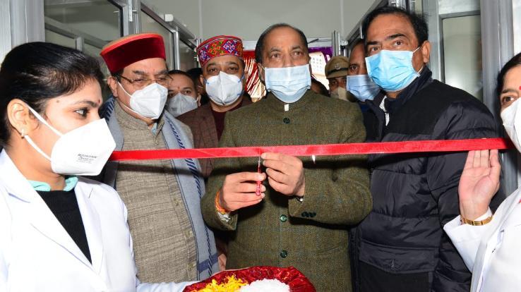 CM-inaugurates-Makeshift-covid-Hospital-at-IGMC