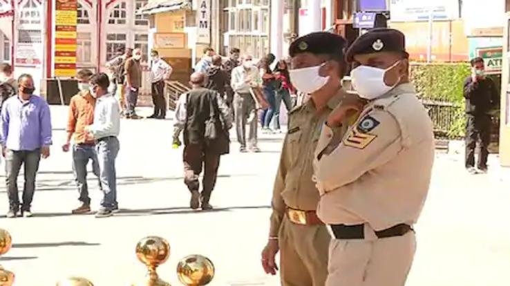 Himachal police increased security after bomb blast in Delhi