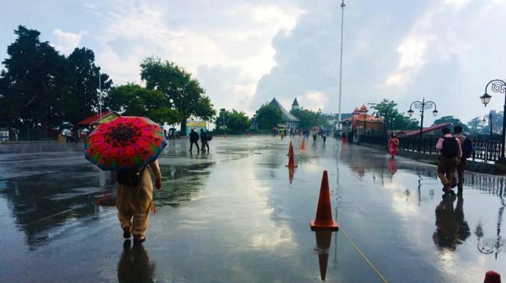 weather report yellow alert in himachal pradesh