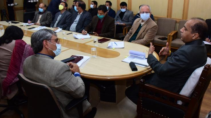 Chief Minister holds meeting with senior officials
