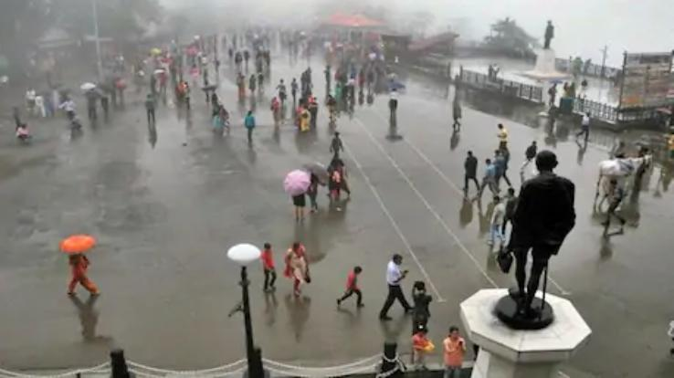 Weather will be bad for five days in Himachal, Yellow alert issued in six districts of the state