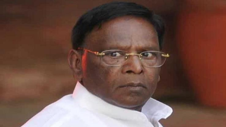 Change in power of Puducherry, Narayanasamy could not save his government