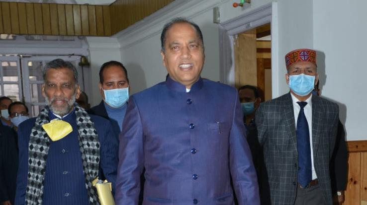 हिमाचल  प्रदेश बजट  2021-22  मुख्यमंत्री जयराम ठाकुर पेश कर रहे चौथा बजट