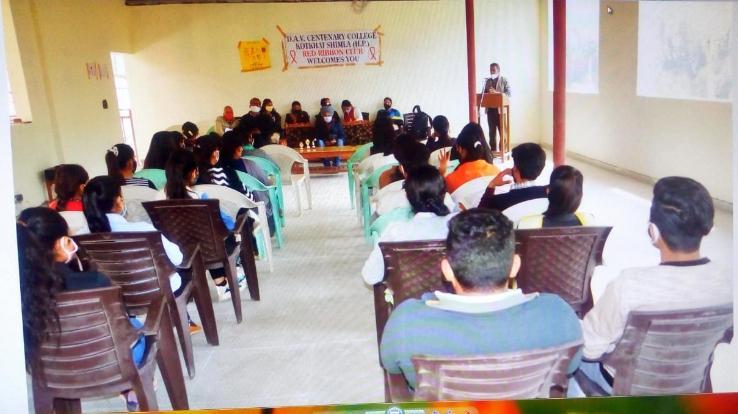 Shimla: NSS and Health Department Seminar organized in DAV College Kotkhai