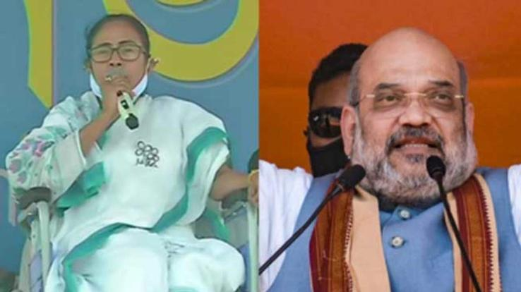 Mamta and Shah will show strength in road show in Nandigram today