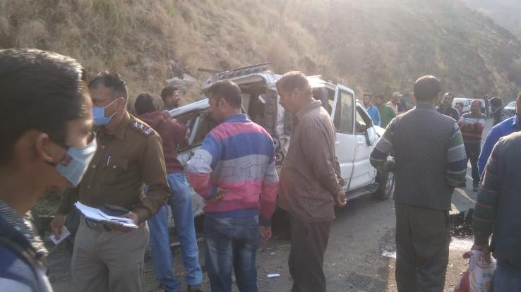 Road accident occurred in Kumarsain