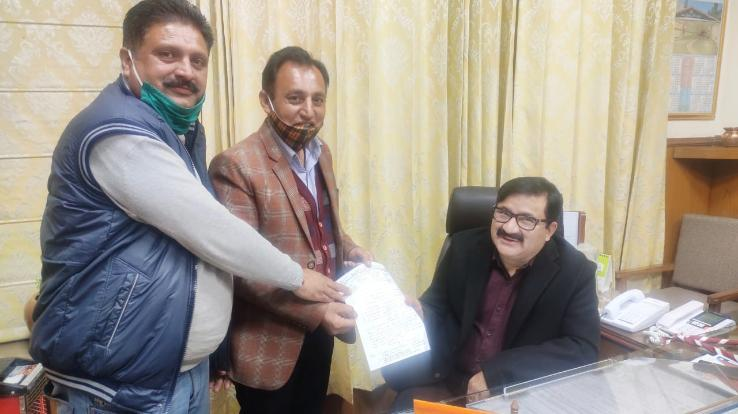 Himachal Government Teachers' Union met Education Minister Govind Thakur