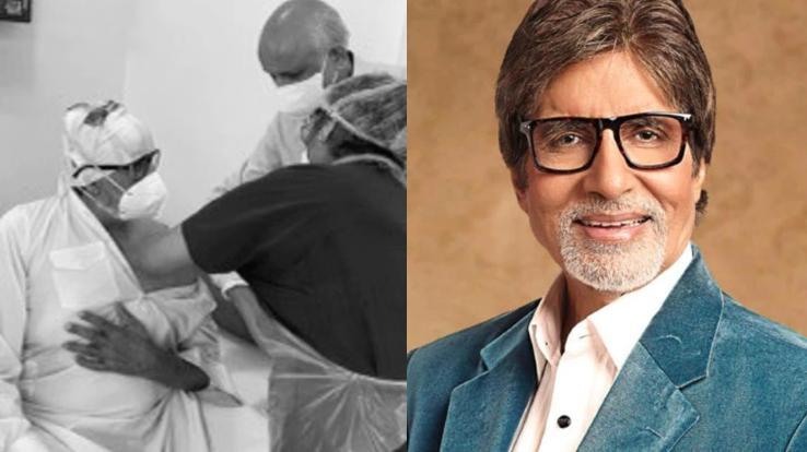 Amitabh Bachchan gets the Corona vaccine with his family