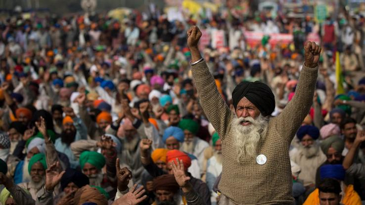 Demonstration of farmers running on all four borders of Delhi-NCR may promote corona infection