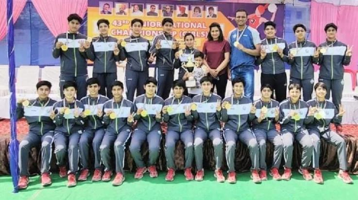 Himachal's daughters won the title of junior national competition