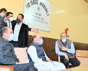 defense-minister-will-reach-manali-in-evening