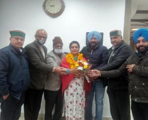 Nisha sharma joined Congress parwanoo nagar parishad