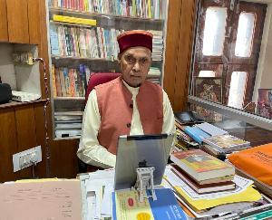 हमीरपुर: पीएसए ऑक्सीजन प्लांट के उद्घाटन अवसर पर पूर्व मुख्यमंत्री ने केंद्र व प्रदेश सरकार का किया आभार व्यक्त