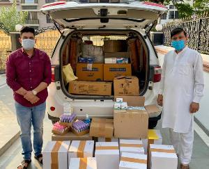 कांग्रेस पार्टी ने थामा पीड़ितों का हाथ, कोरोना महामारी में सुरक्षा किटों अथवा ऑक्सीजन कंसंट्रेटर द्वारा जिंदगियां बचाने का प्रयास