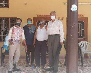 सुजानपुर सर्वकल्याणकारी संस्था व कांग्रेस कार्यकर्ताओं द्वारा गांव-गांव को किया जा रहा सेनेटाइज़
