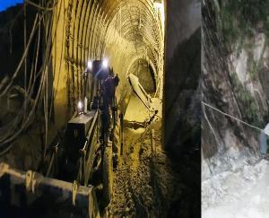 कुल्लू के पंचानाला में एनएचपीसी की टनल धंसने से चार कामगारों की मौत