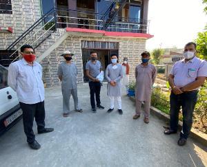 विधायक राजेंद्र राणा के निर्देशों पर अभिषेक राणा ने फील्ड में संभाली राहत कार्यों की कमान