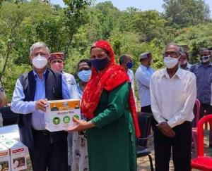 सरकाघाट में आइसोलेशन किट वितरण का विधायक कर्नल इंद्र सिंह ने किया शुभारंभ