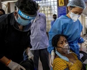 1.65 lakh new cases of corona were reported in the last 24 hours in the country, 3460 patients died