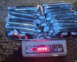 Police caught 9 kg charas consignment in Manikarna of Kullu