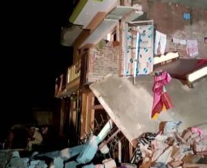 उत्तर प्रदेश : गोंडा में सिलेंडर ब्लास्ट, 4 बच्चों समेत 8 की मौत