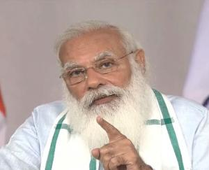 Prime Minister Narendra Modi took part in the program organized on World Environment Day through video conferencing