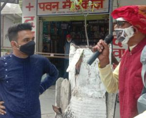 In Kunihar, artists told how to protect against Kovid-19 through street play