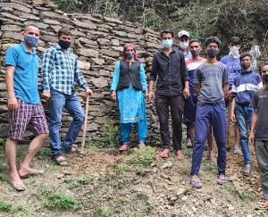 करसोग के तेबन गांव में धूमधाम से मनाया गया पर्यावरण दिवस