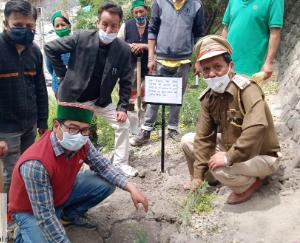 On the occasion of World Environment Day, A.D., popularly known as the Desert Healer. Tribute paid to Negi