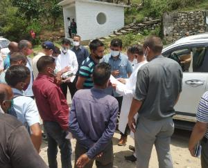 हिमाचल के जल शक्ति मंत्री महेंद्र सिंह से मिले करूणामुलक संघ के सदस्य लगाई नौकरी की गुहार
