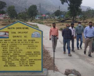 सोलन :ग्रामीण क्षेत्रों में विकास को संबल प्रदान करता मनरेगा