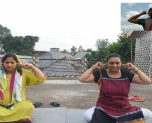 देहरा :आयुष घर द्वार कार्यक्रम का देहरा में आयोजन