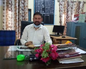 दाड़लाघाट: इंद्र कुमार ने दाड़लाघाट में संभाला नायब तहसीलदार का कार्यभार