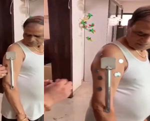 maharashtra-man-claims-to-have-developed-magnetism-after-taking-covishield-second-dose-viral-video/