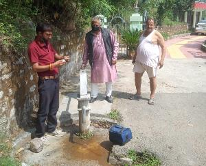 Campaign being run by Jal Shakti Department to check the quality of drinking water JUNE 11 2021