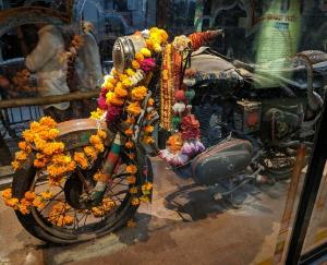 'Bullet' is worshiped in Om Banna Dham