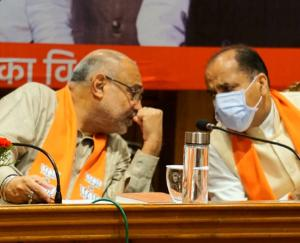 Shimla: The round of meetings in BJP continues for the third day