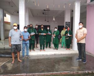 Team of social worker Manish Sharda distributed corona kit in Gagret