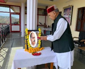 बंगभूमि के लाल डॉ श्यामाप्रसाद मुख़र्जी ने अपनी प्रतिभा से समाज को किया था चमत्कृत: धूमल