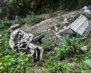 सिरमौर के शिलाई में दर्दनाक सड़क हादसा, 9 लोगों की मौत