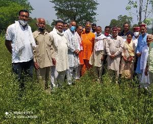जसवां परांगपुर : किसानों की आय दोगुनी करने को जयराम सरकार कटिवद्ध - सुदर्शन सिंह