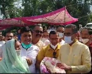 देहरा :उद्योग एवम परिवाहन मंत्री बिक्रम सिंह ने किया जामला सोलर परियोजना का उद्घाटन